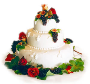 Auntie B Wedding Cake