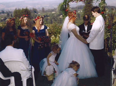 Sonoma County Wedding Ceremony