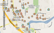 Healdsburg Real Estate Map Search