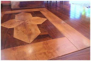 Millstone Valley Ranch Walnut Floor Inlay