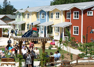 Petaluma Avenue Cohousing in Sebastopol