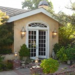 Provencal estate in Chalk Hill near Healdsburg