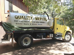 Septic systems require occasional pumping